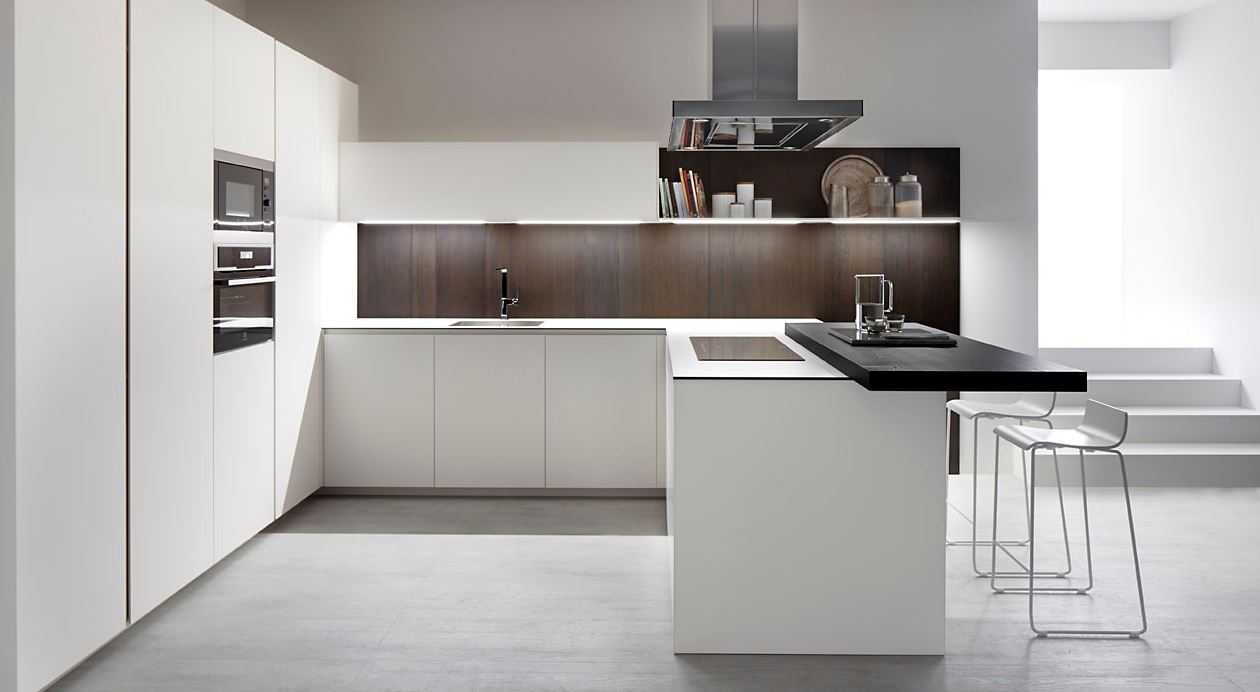 Decoraci n minimalista con estilo y 15 consejos para for Cocina comedor en l