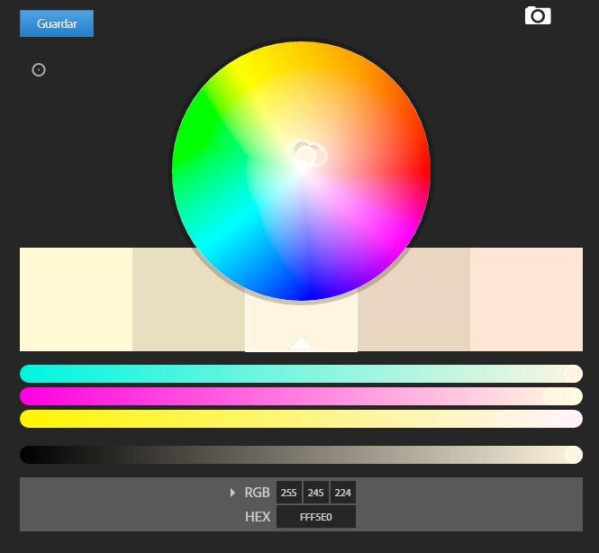 colores minimalistas