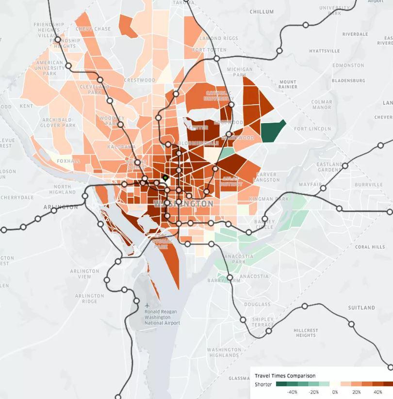 patrones de trafico ciudades
