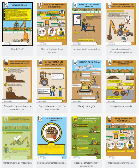carteles informativos herramientas