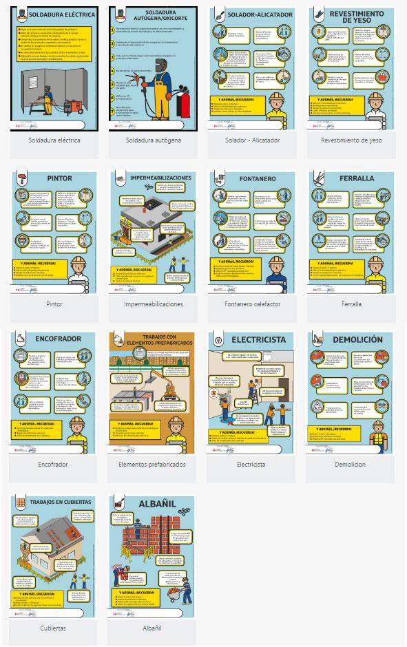 carteles informativos de oficios