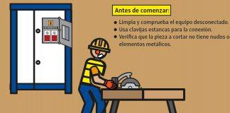 carteles informativos riesgos laborales