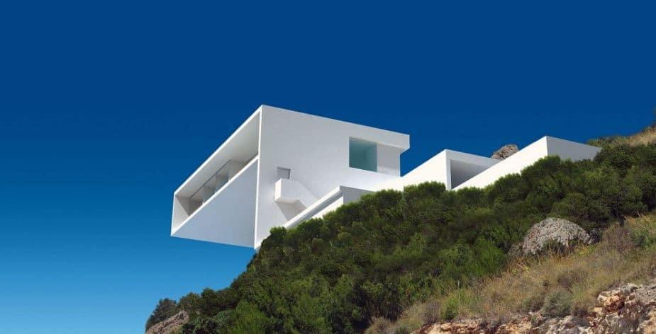 construcción minimalista