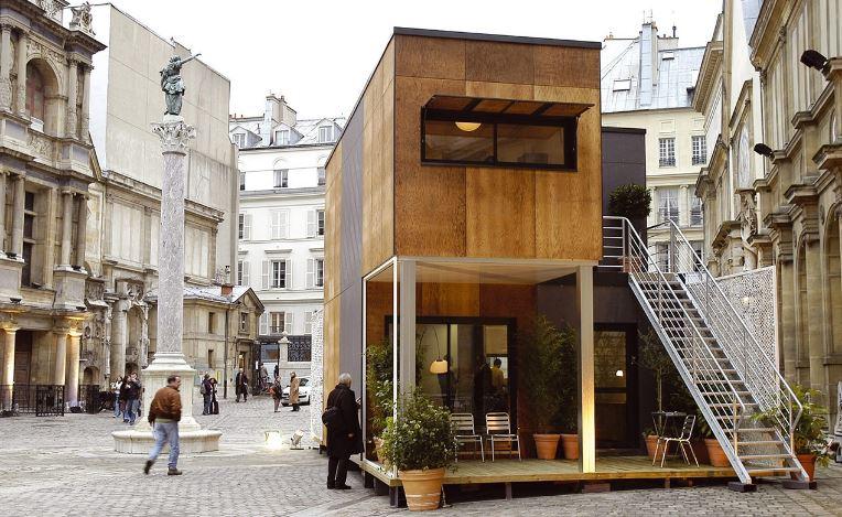 vivienda de modulos adaptable