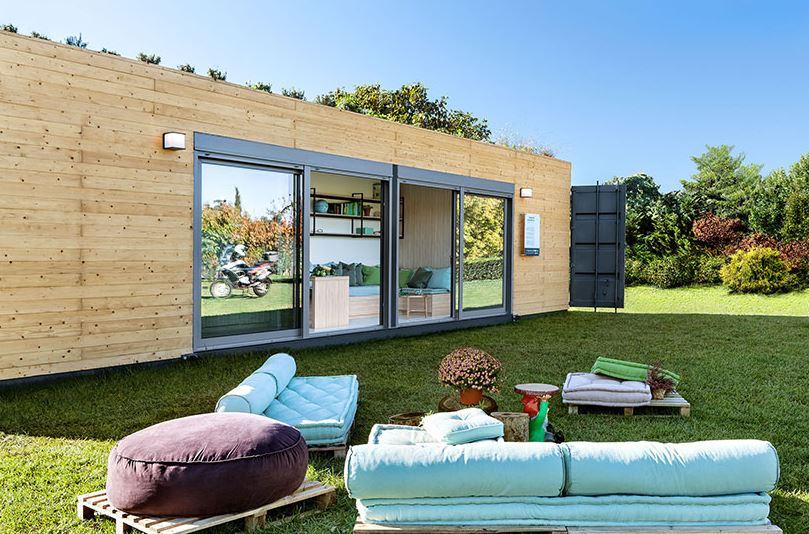 La arquitectura con contenedores an lisis ventajas y - Contenedores maritimos para vivienda ...