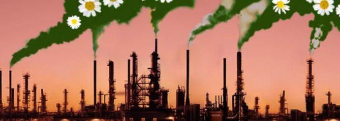 empresas contaminantes y poco verdes