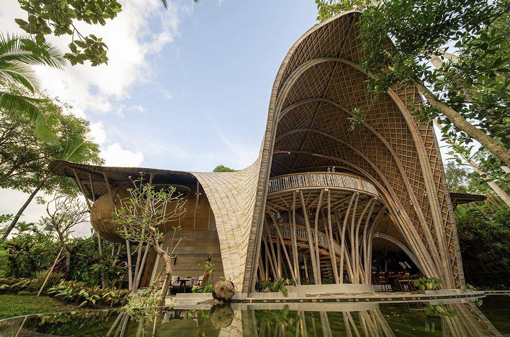 construcción sostenible bambu