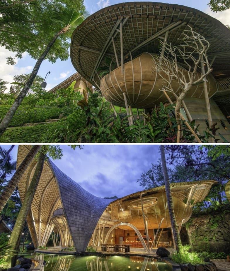 hoteles de bambú