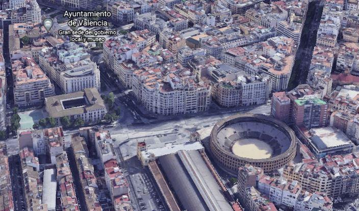 mapa virtual 3d ciudades