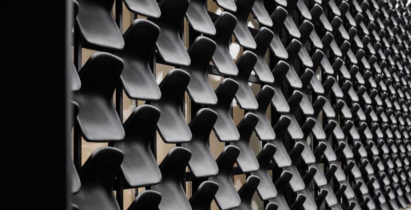 asientos de plastico comodos