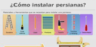 como instalar persianas