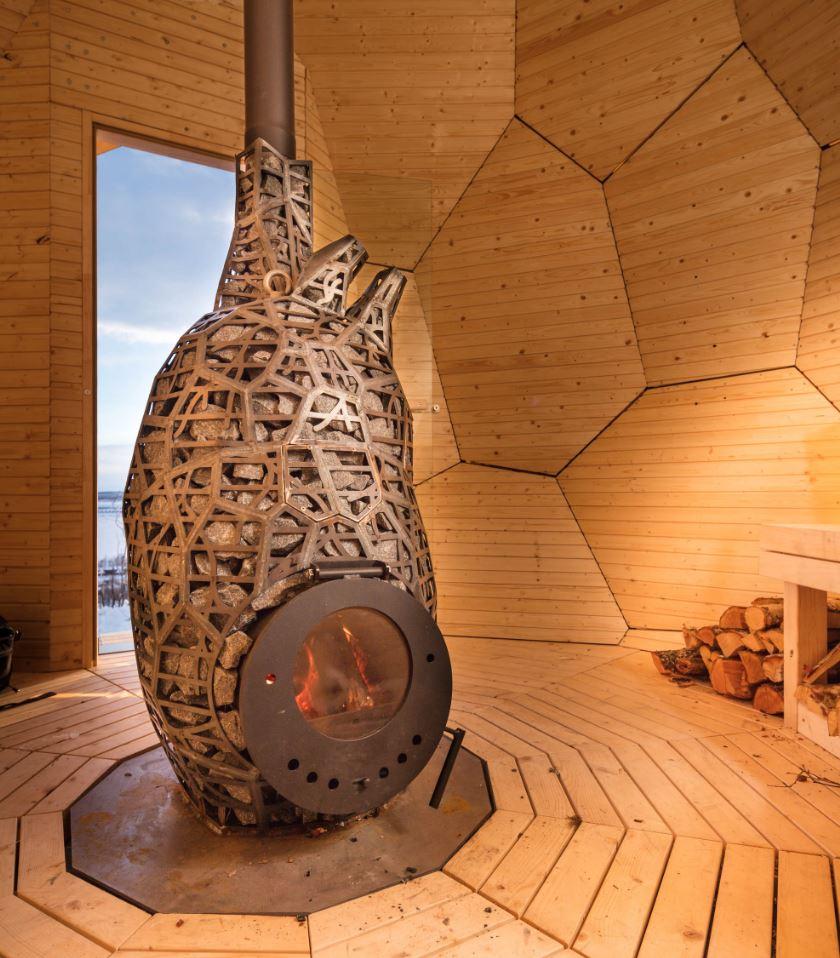 Cual Es La Sauna Mas Original Y Con Diseno El Huevo De Oro - Sauna-madera
