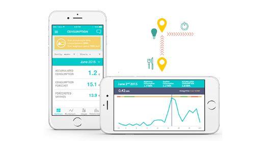 app para ahorro energía