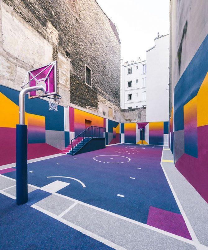 moda con baloncesto