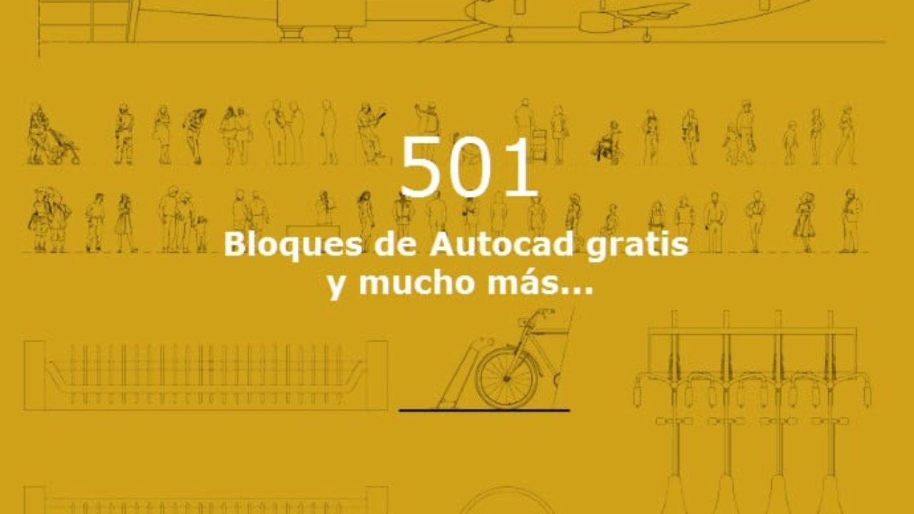 501 Bloques Autocad gratis para descargar 2D y 3D | OVACEN