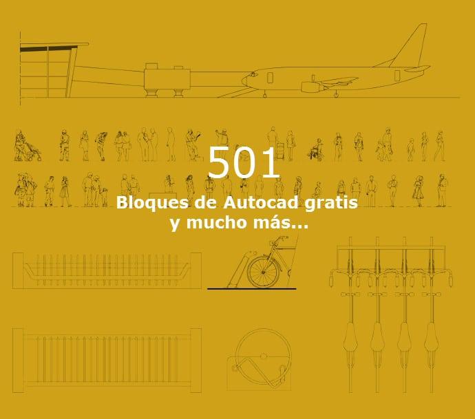 501 Bloques Autocad Gratis Para Descargar 2d Y 3d Ovacen