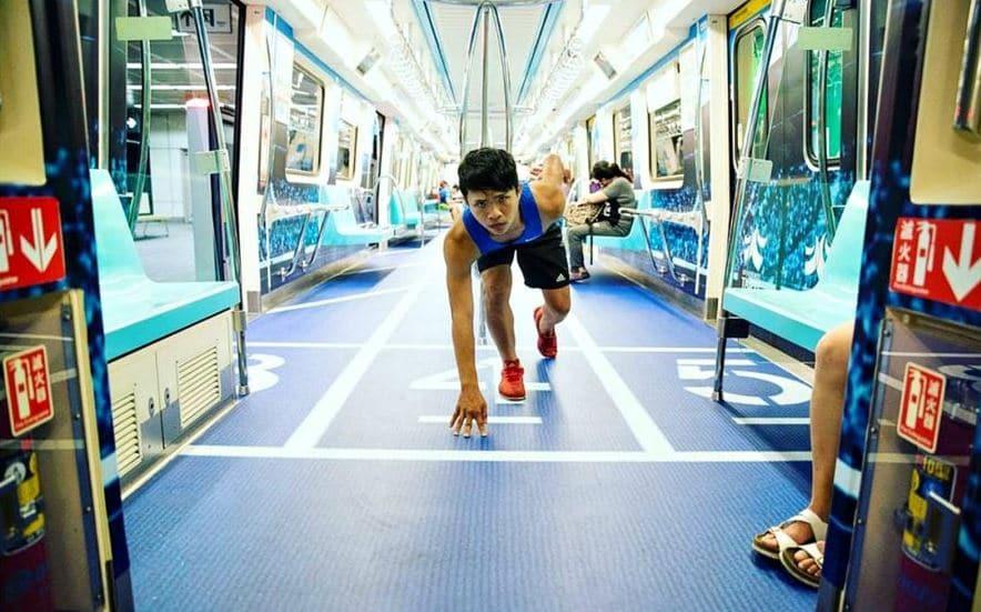 deportes en el metro