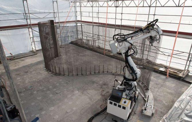 robots para la construccion