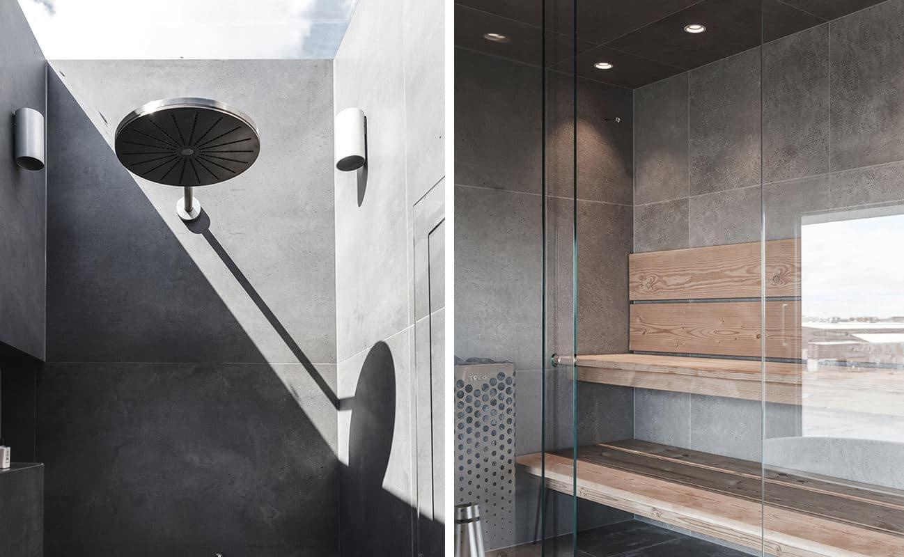 sauna con spa