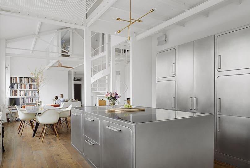 materiales en las cocinas