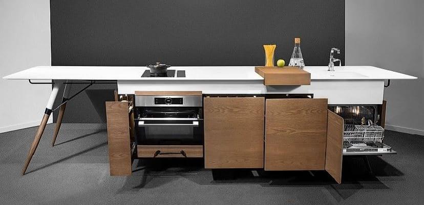 optimizar espacio en cocina