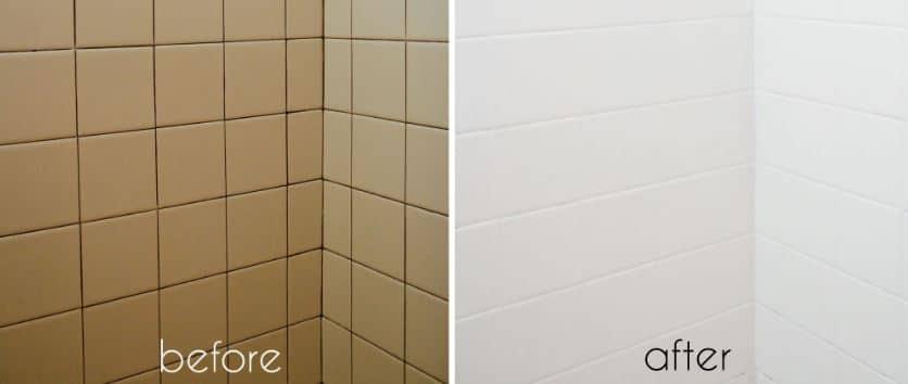 Ideas y consejos para reformar un ba o sin alba iles - Pintura especial azulejos ...