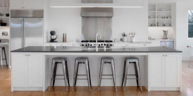 13 ideas para dise o de cocinas modernas tiles e for Taburetes de cocina modernos