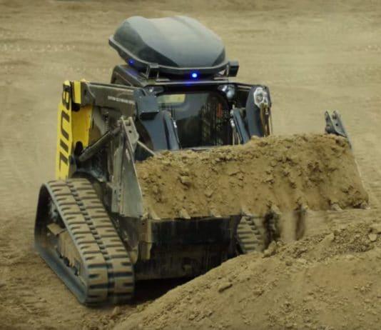 bulldozer para obras