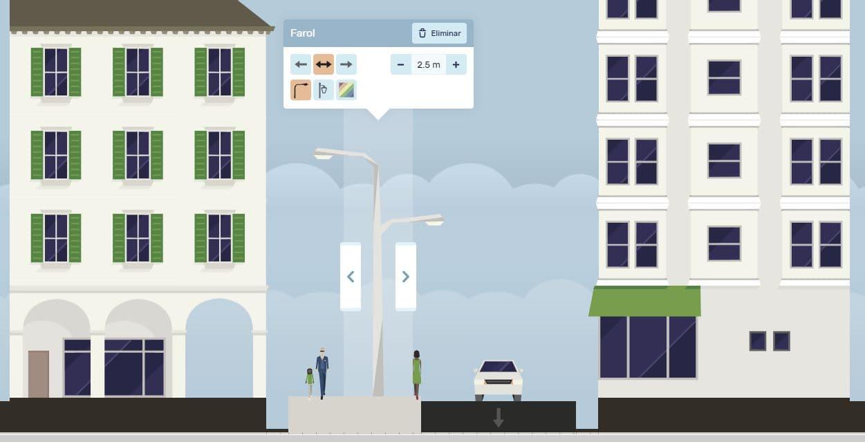 juego diseño calles y avenidas