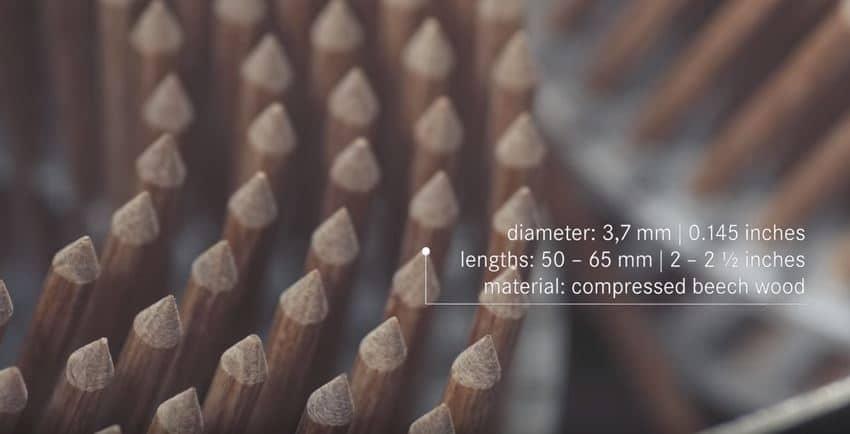 ventajas clavo de madera
