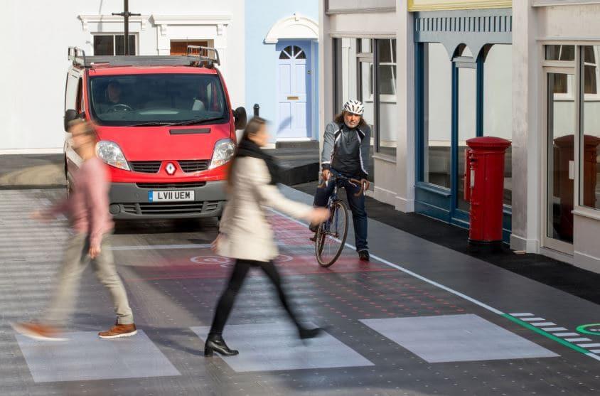 cruces interactivos de calles