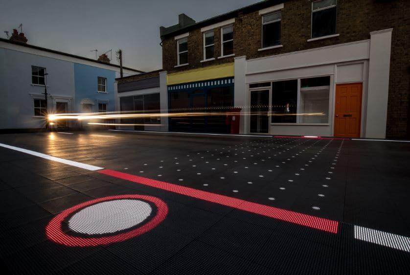 iluminación calles con led