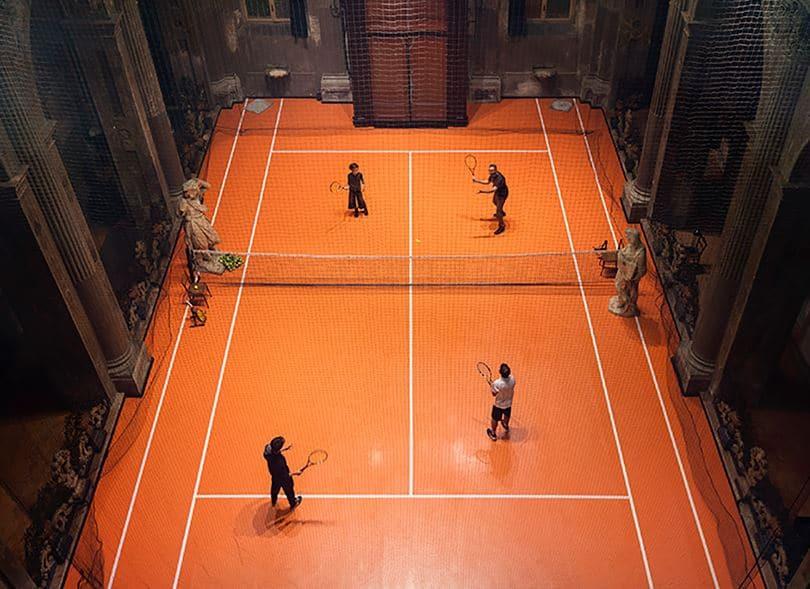 instalacion tenistica