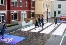 pasos de peatones interactivos