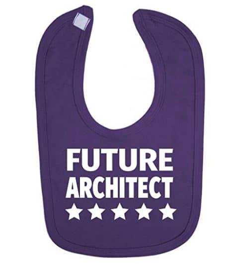 babero para arquitecto