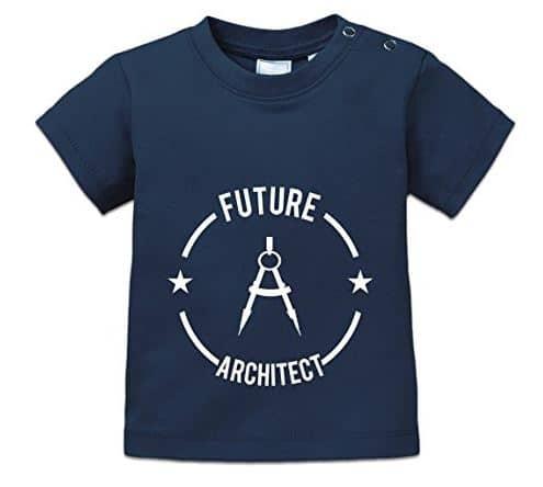 camiseta bebe arquitecto