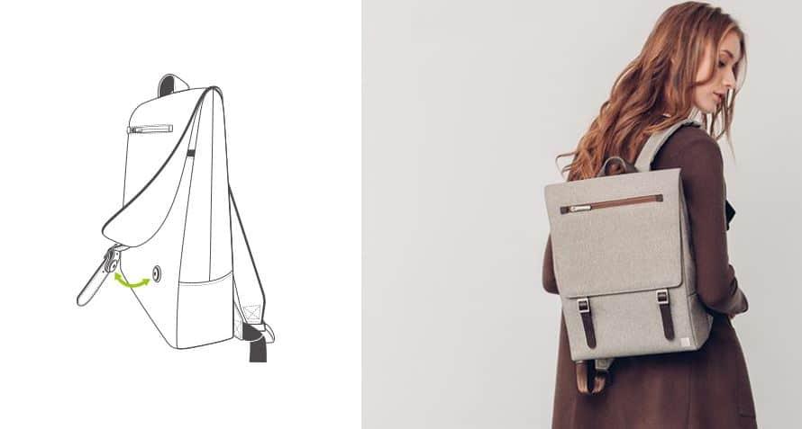 mochila para arquitectos