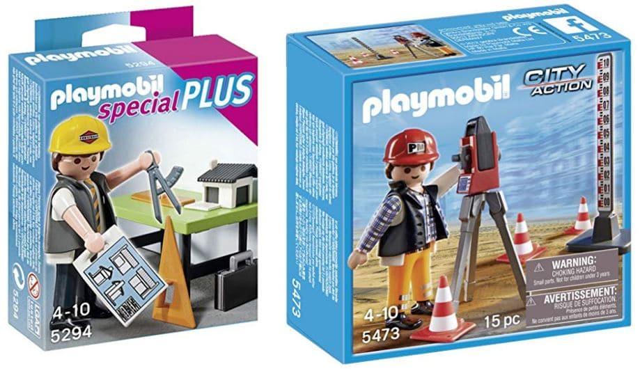 playmobil arquitecto y topógrafo
