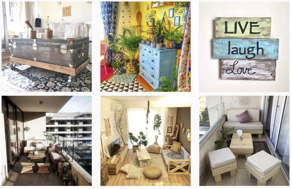 imágenes muebles con palets