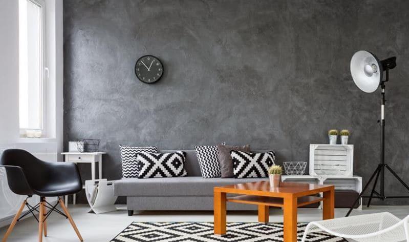 Pintura plateada para paredes pintura metalizada con for Pintura para pared interior