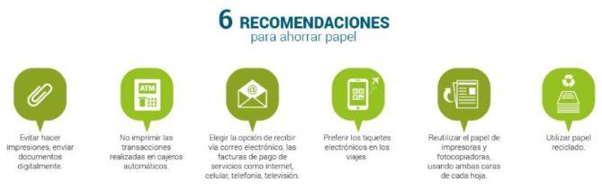 recomendaciones para ahorrar papel en casa