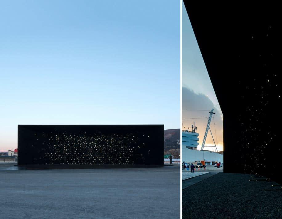 construcción color negro