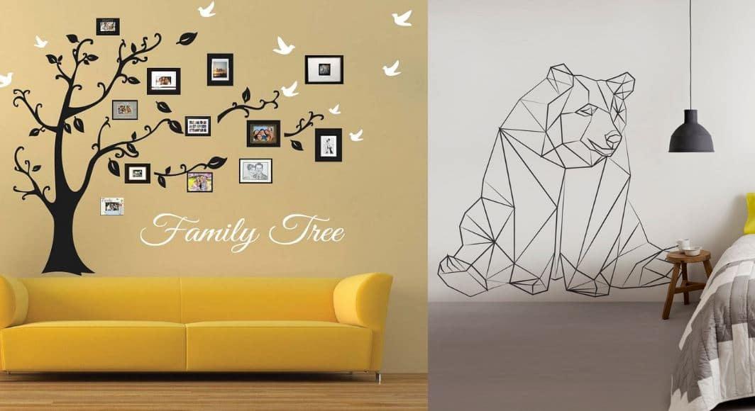 ideas decoración con vinilos
