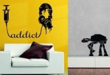 vinilos para decoración paredes