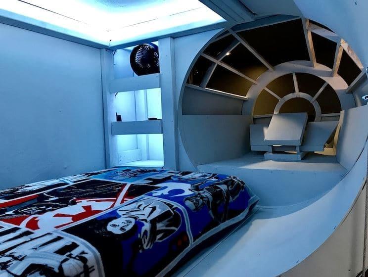 dormitorio millennium falcon