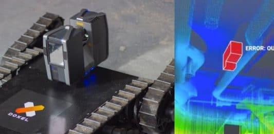 escanear obras con robots