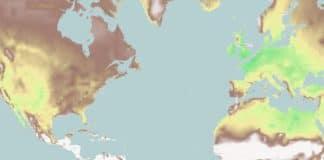 mapa interactivo cambio climático
