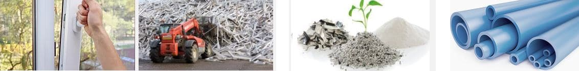 reciclaje carpintería de pvc