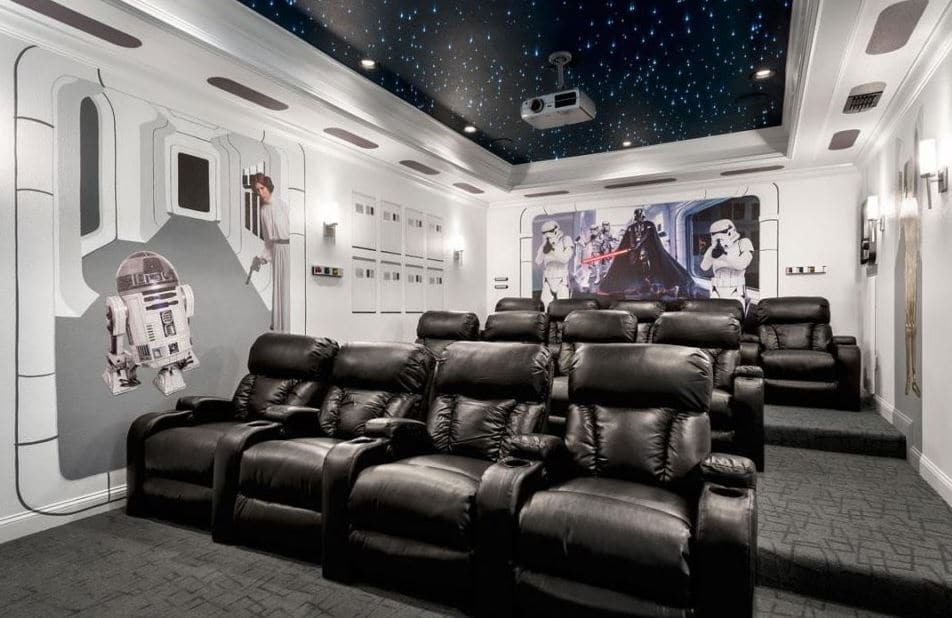 sala de cine star wars