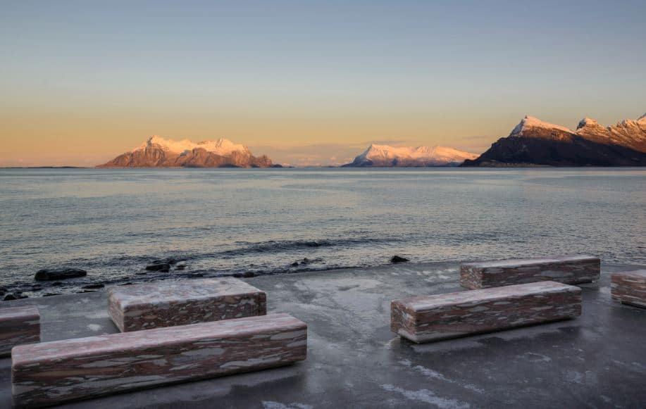 vistas paisaje de noruega